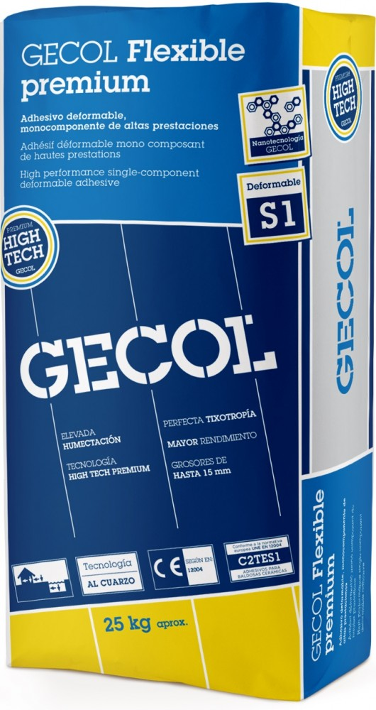 S1 . Gecol Premium Grijs 25KG
