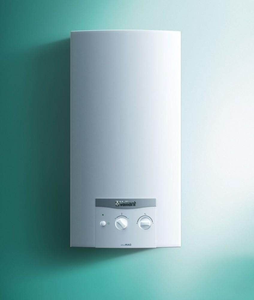 atmoMAG G  Badverwarmer met automatische ontsteking en schoorsteenaansluiting