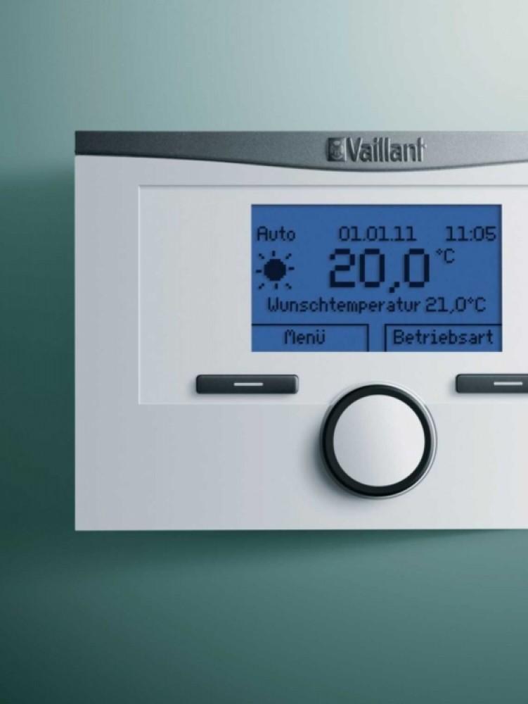 Vaillant VRT modulerend draadloos bij kamertemperatuur VRT350f