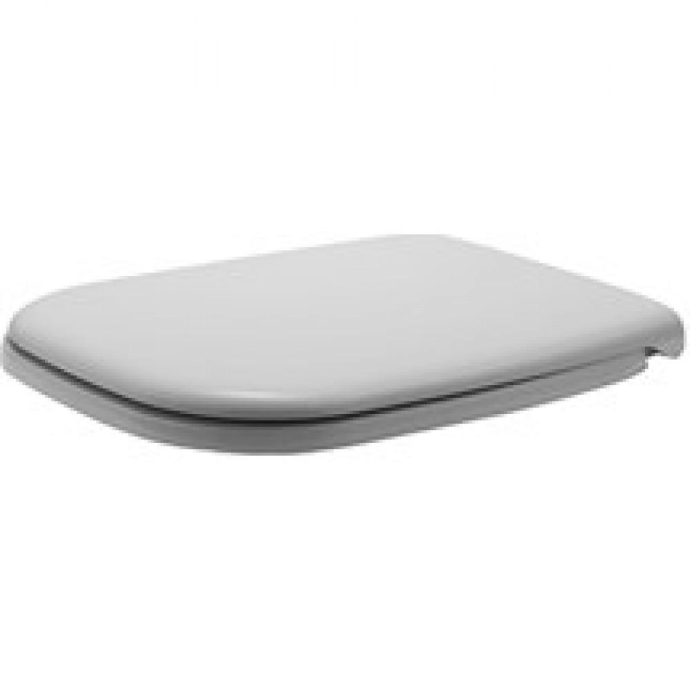 Duravit D-code witte toiletzitting met softclose scharnier