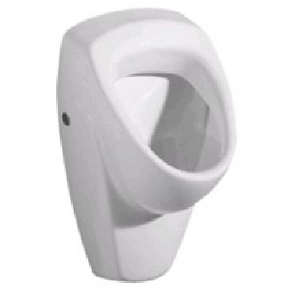 Wit stopcontact voor Geberit Renova urinoir aan de achterkant